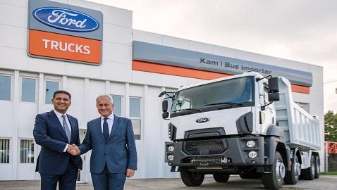 İş Makinası - Ford Trucks'ın Avrupa'daki yeni adresi Hırvatistan oldu