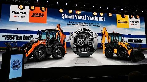 Case ve New Holland kazıcı yükleyiciler artık Ankara'da üretilecek
