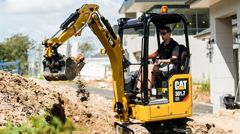 İş Makinası - Yeni Nesil Cat mini ekskavatörler geliyor