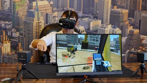 Temsa İş Makinaları sanal gerçekliği sektöre taşıdı