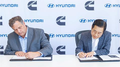 İş Makinası - Hyundai Motor Company ve Cummins'ten yeni iş birliği