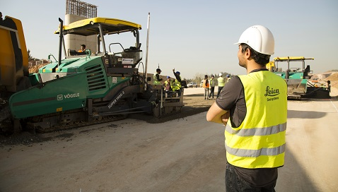 İş Makinası - Leica Makine Kontrol Sistemleri Kuzey Marmara Otoyolu Projesi'nde