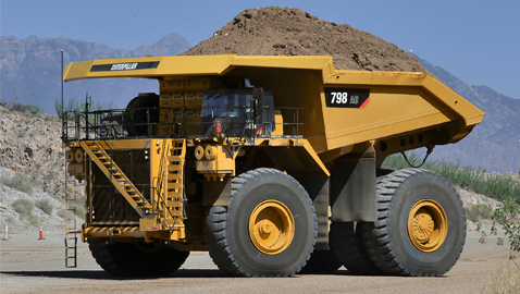 Caterpillar'dan iki yeni dev