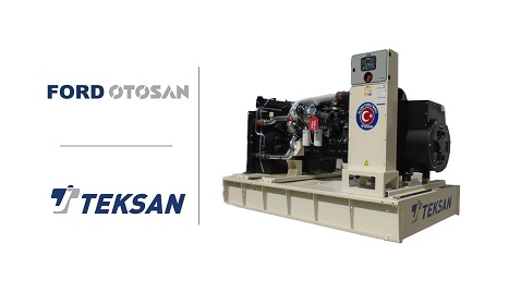 İş Makinası - Teksan ile Ford Otosan'dan önemli güç ortaklığı