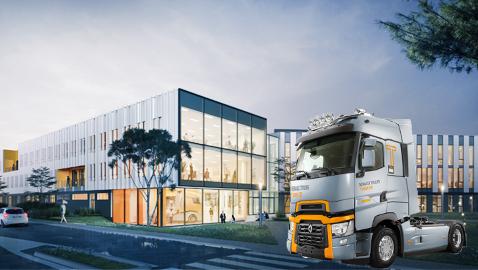 İş Makinası - Renault Trucks yeni Ar-Ge merkeziyle geleceğe hazırlanıyor