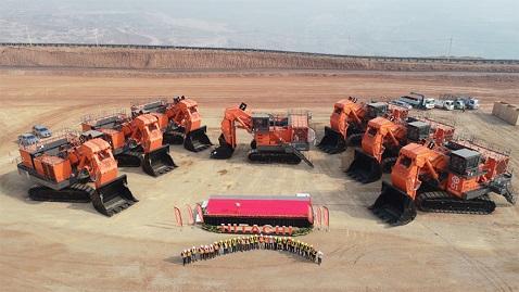 İş Makinası - Tayland'daki kömür madeninde elektrikli Hitachi'ler çalışacak
