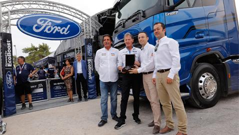 Ford'un yeni çekicisi ralli takımına destek verecek