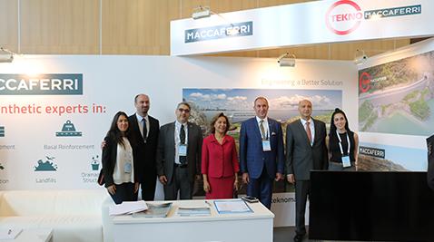 Tekno Maccaferri, Eurogeo 6 Kongresi'nin sponsoru oldu