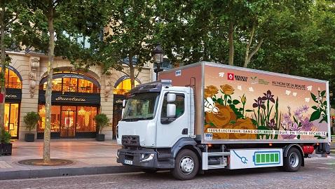 Renault Trucks elektrikli kamyonlarını 2019'a hazırlıyor