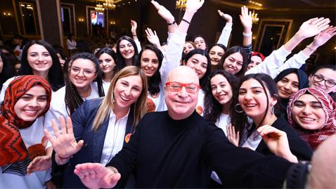 Türkiye'nin mühendis kızları ustalarıyla buluştu