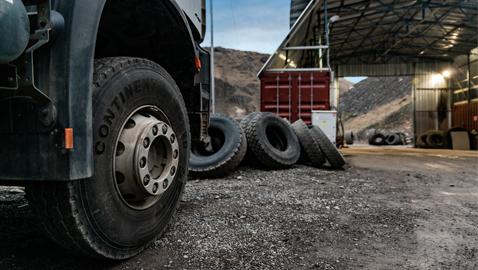 İş Makinası - Age İnşaat, baraj şantiyesindeki lastik verimliliğini Continental ile geliştirdi