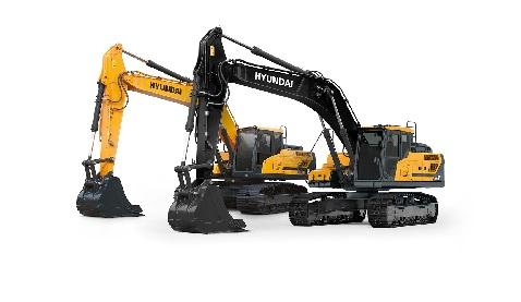 İş Makinası - Yeni A-Serisi Hyundai makinelere yeni görünüm