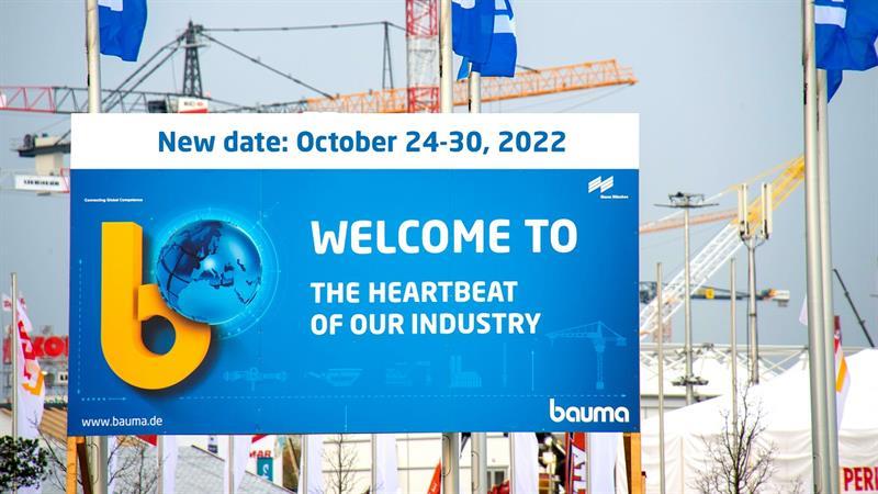 İş Makinası - Almanya'da düzenlenecek Bauma 2022 Fuarı ertelendi