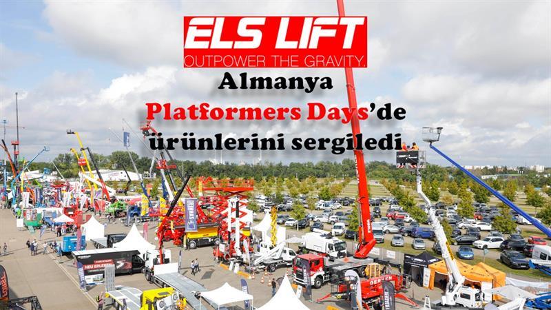 ELS Lift, Almanya'da düzenlenen Platformers Days'de ürünlerini sergiledi