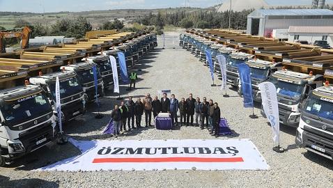 İş Makinası - Cacimler İnşaat kamyon filosunu 25 adet Volvo FMX ile güçlendirdi