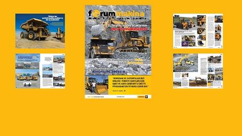 Forum Makina dergisi 62inci sayısı sitemize yüklendi