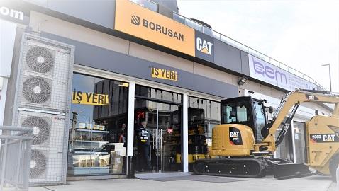 Borusan CAT, müşterilerine İŞ YERİ açıyor