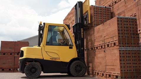 İş Makinası - Hyster'in 8-16 tonluk forkliftleri, dış sahalarda verimliliği hedefliyor
