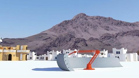 İş Makinası - 3D yazıcı ile 50 kat daha hızlı inşaat süreci