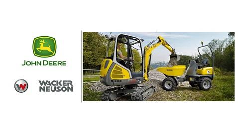 Wacker Neuson ve John Deere Asya-Pasifik'teki güçlerini birleştiriyor