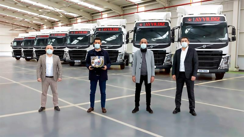 Ayyıldız Grup araç filosunu 30 adet Volvo FM500 ile güçlendirdi
