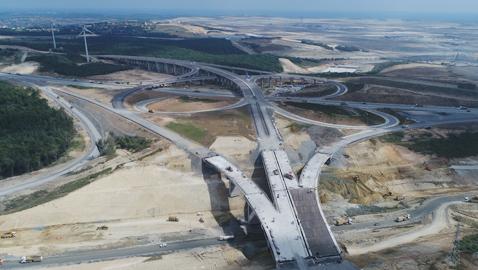 İş Makinası - Kuzey Marmara Otoyolu Projesi SITECH-Eurasia ile hız kazanıyor