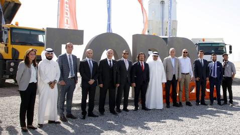 İş Makinası - Cengiz İnşaat ve Polat Yol, Kuveyt çalışmaları için  Ford Trucks'ı seçti