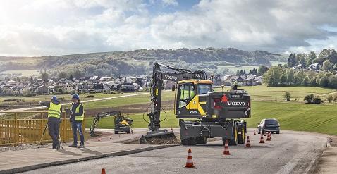 Volvo, INTERMAT 2018'de geleceği inşa edecek