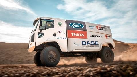 İş Makinası - Ford Trucks dünyanın en zorlu off-road maratonu Dakar'da yarışacak