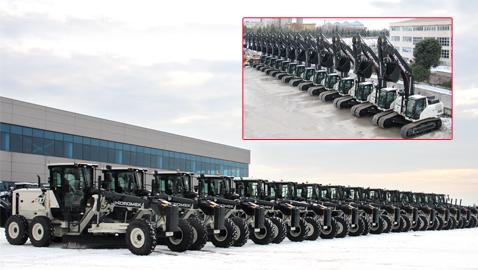 İş Makinası - HİDROMEK'ten Orman Genel Müdürlüğü'ne 29 iş makinesi