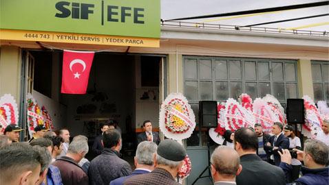 SİF İş Makinaları'nın yeni yetkili servisi Sivas'ta hizmete girdi