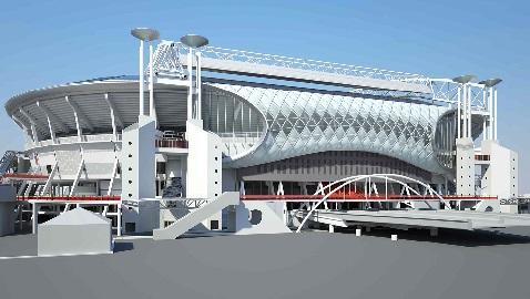 İş Makinası - Hollanda'nın simge stadyumu Rönesans ile yeniden doğuyor