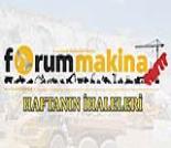 İş Makinası - Türkiye'de 4 – 8 Kasım 2019 haftasında gerçekleşen önemli ihaleler Forum Makina