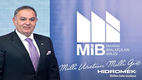 Mustafa Bozkurt, Makina İmalatçılar Birliği'nin Başkan Vekili seçildi