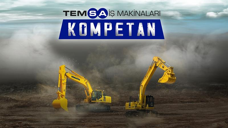 KOMATSU'DAN YEPYENİ HİZMET MODELİ KOMPETAN