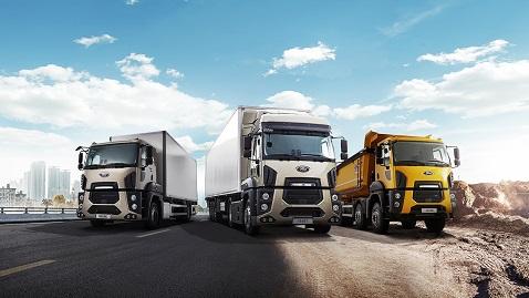 İş Makinası - Ford Trucks'tan beton sektörüne 79 yeni araç teslimatı