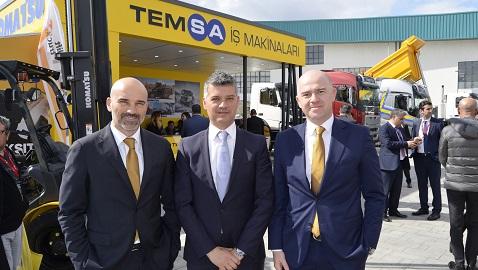 İş Makinası - Komatsu, Volvo Trucks ve Crown ile Temsa İş Makinaları'ndan uçtan uca hizmet