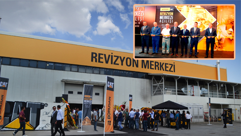 Borusan Cat'in üçüncü revizyon merkezi Ankara'da açıldı