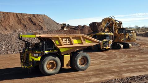 İş Makinası - Şoförsüz Cat maden kamyonları 1 milyar ton sınırını aştı