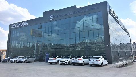 ASCENDUM Makina yeni Ankara Şubesi hizmete açıldı