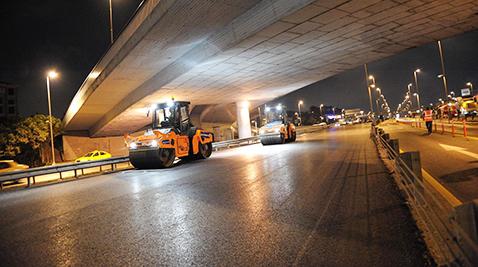 2 milyon ton asfalt dökülecek
