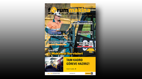 İş Makinası - Forum Makina Dergisi Nisan 2016 Sayısı internet sitemize yüklendi