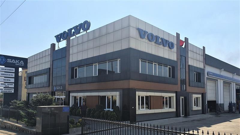 Saka Group, Volvo İş Makineleri hizmet ağını Erzurum ile genişletti