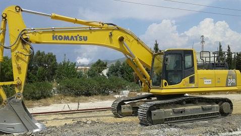 İş Makinası - Taşyapı'nın yeni projelerine Komatsular hayat verecek