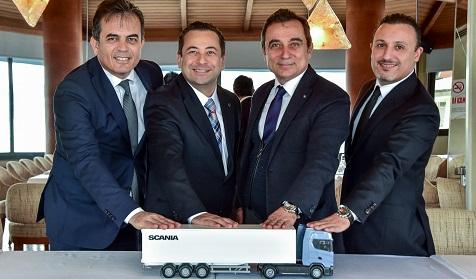 Scania yeni inşaat serisi ve dijital dönüşümüyle hedef büyüttü