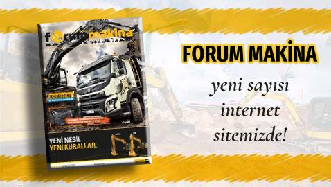 Forum Makina dergisi 80'inci sayısı sitemize yüklendi