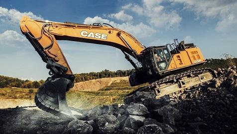 Case 70 tonluk ekskavatörü ile İNTERMAT'ta
