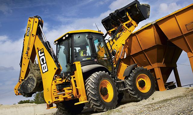 İş Makinası - SİF, JCB kazıcı yükleyicilerde bakım aralığını 500 saate yükseltti
