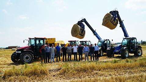 Mutlular Grup, Türkiye'deki ilk biyokütle enerji yatırımında kullanacağı makine parkı için TürkTraktör'ü seçti
