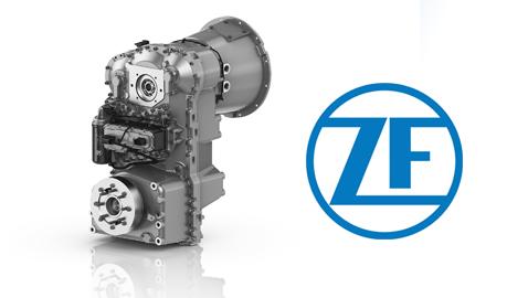 İş Makinası - ZF'den inşaat makineleri için yeni şanzıman BASICPOWER